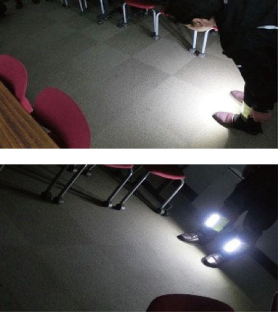 脚絆ライト