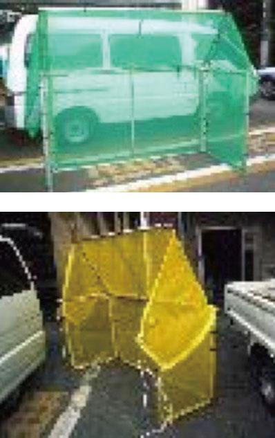はつり用飛散防止柵(Ⅰ型・Ⅱ型)